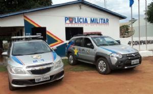 O caso foi registrado no Quartel da Polícia Militar (Crédito: Agência da Notícia)
