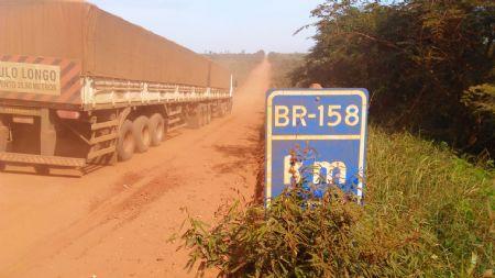 Vale lembrar que o trecho de 127 km não pavimentados, tem 5 pontes de madeiras. (Crédito: Agência da Notícia)