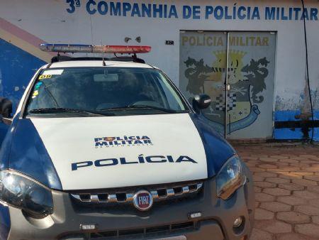 O caso foi atendido pela Polícia Militar de Confresa (Crédito: Agência da Notícia)