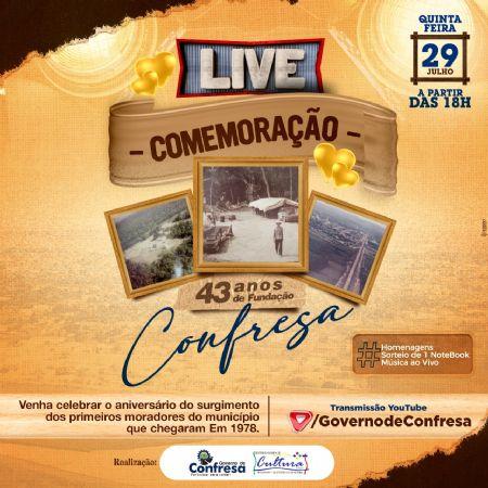 Live começa as 18:00 hs horário de Brasília (Crédito: Agência da Notícia com Reprodução)
