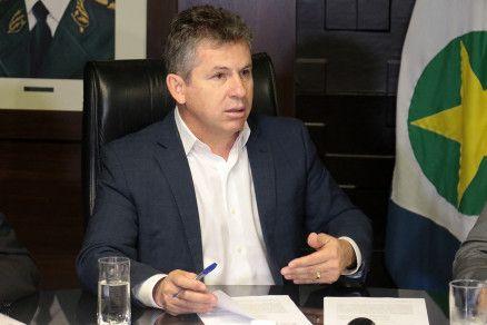 O governador Mauro Mendes: melhora no desempenho do Paiaguás (Crédito: Alair Ribeiro/MidiaNews)