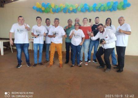 Profissionais reunidos em Alto Boa Vista (Crédito: GN Comunicações)