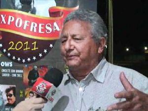Bira Capuzzo - Presidente do Sindicato Rural de Confresa e idealizador e organizador da Expofresa (Crédito: Arquivo/Agência da Notícia)