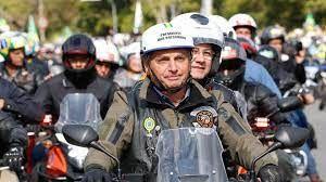 A última Motociata que o Presidente participou foi neste sábado (31), em Presidente Prudente (Crédito: Agência da Notícia com Reprodução)