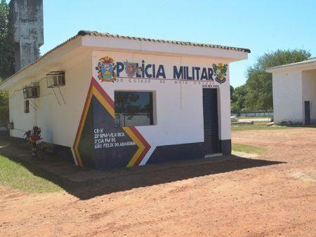 O caso foi atendido pela Polícia Militar do município de São Félix (Crédito: Agência da Notícia)