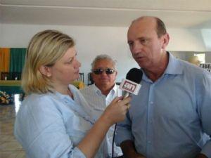 Ministro da Agricultura Neri Geller em entrevista ao Agência da Notícia (Crédito: Agência da Notícia)