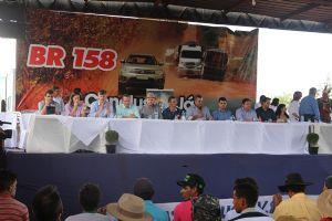 Audiência realizada na Vilarejo Alô Brasil (Crédito: Agência da Notícia)