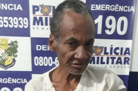 O suspeito foi preso em flagrante pela Polícia Militar de Vila Rica (Crédito: Agência da Notícia/Reprodução)