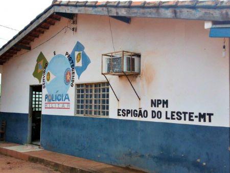O caso foi atendido pela Polícia Militar do município de Espigão do Leste (Crédito: Agência da Notícia)