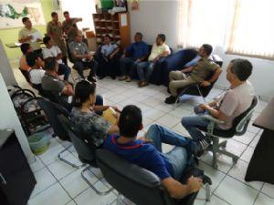Reunião com autoridades em São Félix do Araguaia (Crédito: Agência da Notícia)