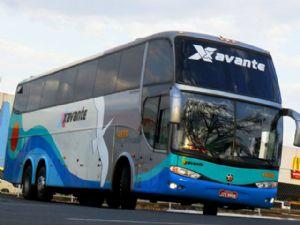 O ônibus da Viação Xavante fazia a linha Ribeirão Cascalheira á Goiânia